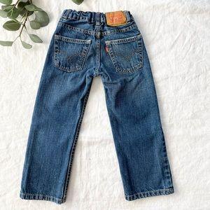 Levi's 514™ Slim Straight Fit Little Boys Jeans